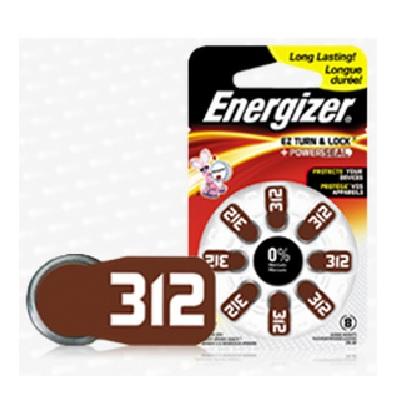 AZ312 8 pack Hearing Aid Battery