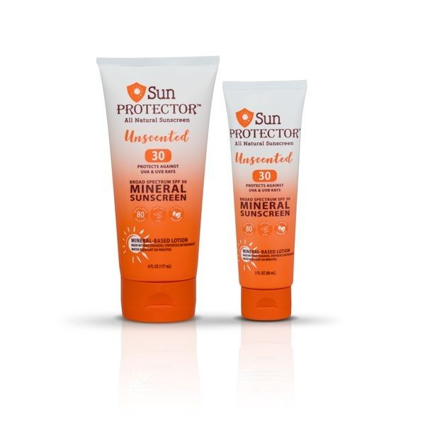 Sun Protector 3 oz., All Natural, SPF 30